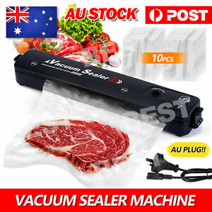 Vacuum Sealer Machine Food Storage Fresh Packaging Kitchen Heat Saver Seal Bag