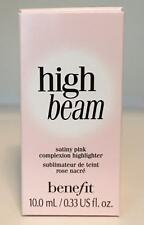 Benefit Cosmetics High Beam Satiny Pink Liquid Complexion Highlighter 0.33 oz