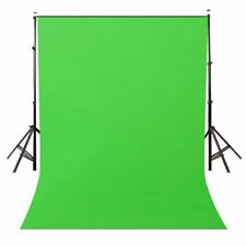 Green Screen Background Backdrop 5 Ft x 7 Ft Non-Woven Fabric Solid Color Photo