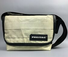 FREITAG Hawaii Five-0 White Bag Crossbody Strap Messenger Black Trim
