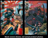 Danger Girl Kamikaze 1 2 WildStorm 2001 Complete Set Run Lot 1-2 VF/NM