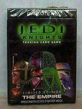 STAR WARS Premier JEDI KNIGHTS Trading Card Game Starter Deck THE EMPIRE Ltd Ed