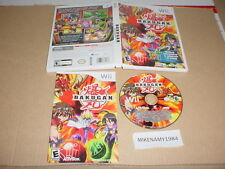 BAKUGAN : BATTLE BRAWLERS game complete for Nintendo Wii system