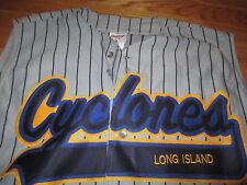 Rawlings BROOKLYN CYCLONES Minor League Baseball LG Sleveless Jersey BAR & GRILL