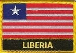 Liberia Patch / Liberia Flag