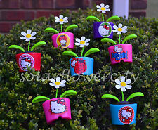 Flip Flap Solar Power Dancing Flower - Hello Kitty 10 styles Available