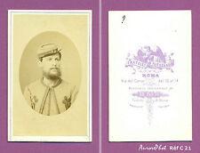 CDV FRATELLI D'ALESSANDRI : ZOUAVE PONTIFICAL 1870 Réf C 21