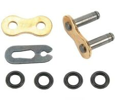 DID 525VM2 X-Ring Gold chain Master Link - Clip Style 525 vm2