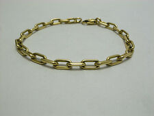 Cartier Spartacus 18K Yellow Gold Link Chain Bracelet - Very Good