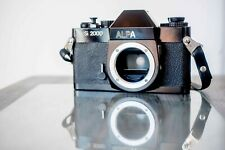 Rare Alpa SI 2000 m42 mount / leather case