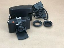 Minox 35 CL Film Camera w/Case/Strap/Hoods-Untested-Fires