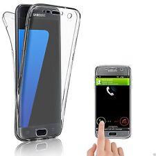 Pour Samsung Galaxy S7 edge Coque Gel avant + Arrière 360 Protection INTEGRAL