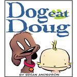 Dog eat Doug comic art shop