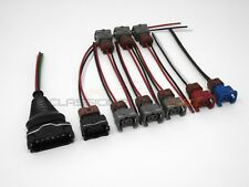 Fuel Injector MAF TPS Wiring Harness Connector Kit for Nissan 300zx z31 88-89