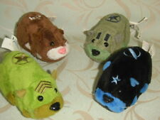 4 Electronic 2008 Cepia Llc Zhu Zhu Pets Hamsters Checked Working Rare Toys