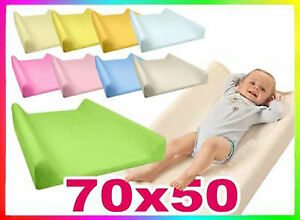 Terry Towelling Jersey Fitted Changing Mat Cover 70x50cm Baby Nursery Case Sheet