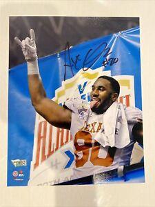 Alex Okafor Signed Texas Longhorns 8x10 Photo Fanatics Hologram Kansas KC Chiefs