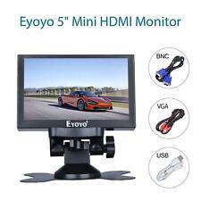 "Eyoyo 5"" Mini HD Monitor Car Rear View AV HD Output Video LCD 800x480 For DVD"