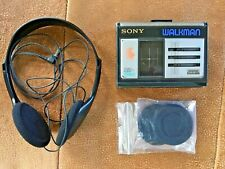 Vintage Sony Walkman WM-33 Personal Cassette Player with Sony MDR-027 Headphones