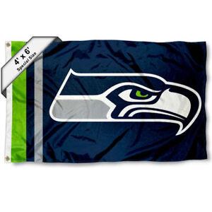 Seattle Seahawks Big 4x6 Foot Flag