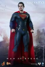 Hot Toys Superman Man of Steel MMS200 Henry Cavill NEW! Sealed Shipper!