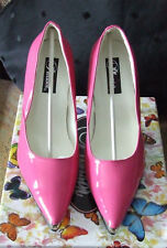 Pleaser USA Heat 01 UK 5 US 8 Euro 38 Pink Patent High Heel Courts