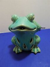 New Ceramic Hear No Evil Lucky Frog Figurine Gc Naturals Potpourri Sachet Holder
