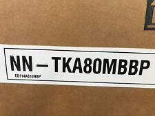 Panasonic NN-TKA 80 MBBP micro-ondes encastrable Trim Kit argent métallisé-New Boxed