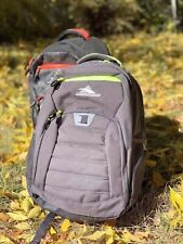 High Sierra Everyday 33L Laptop Backpack Gray New With Tags