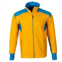 Löffler CC Micro Mix Yellow/Blue Jacket Mens XXL (56) *REF40