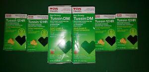 2 Tussin DM Non-Drowsy 12 FL OZ & 4 Tussin 12 HR 3 FL OZ Cough Suppressant