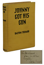 Johnny Got His Gun ~ SIGNED by DALTON TRUMBO ~ First Edition 1939 ~ 1st Printing
