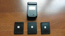 Battery Dock Wall Charger USB and 3 batteries for HTC Thunderbolt Mytouch 4G