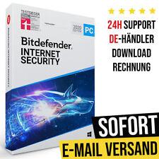 Bitdefender Internet Security 2021   1PC, 3PC, 5PC - Geräte   1 Jahr, 2 Jahre