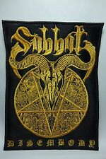 sabbat disembody           EMBROIDERED  PATCH