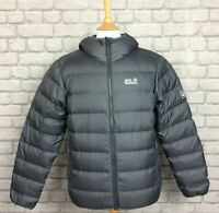 JACK WOLFSKIN MENS UK S GREY HELIUM SNOWDUST JACKET COAT AUTUMN WINTER RRP £169