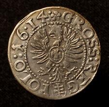 Polen, Sigismund III., Groschen 1614 Krakau