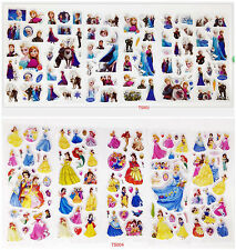 3D children's cartoon princess Stereoscopic decorative sticker 11sheets/lot gift