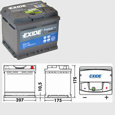 Type 063 47ah 450cca 4 Year Exide Premium Car Battery EA472