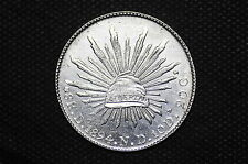 Mexico - Republic 1894 Do ND 8 Reales Silver Coin ( Weight : 26.97 g ) C50