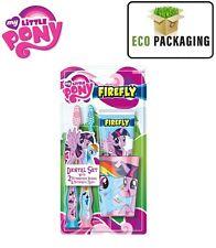 Mi Pequeño Pony Dental Set, Cepillo de Dientes x 2 Pasta de Dientes & Taza/vaso