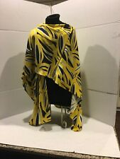"""Chico's Open Front Poncho Cape Knit Shawl Wrap One Size """"estimations 74"""" x 26"""""""