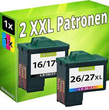 TINTE PATRONEN für LEXMARK 17+27 X1100 X1110 X1130 X1140 X1150 X1155 X1160 X1170