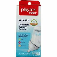 Playtex Baby VentAire Bottle, Wide, Slow Flow, 0-3 months, 6 oz