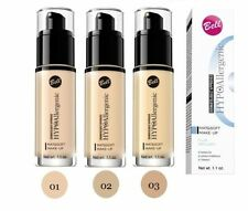 BELL HYPOAllergenic MATT & SOFT MAKE-UP foundation also SENSITIVE SKIN OIL FREE