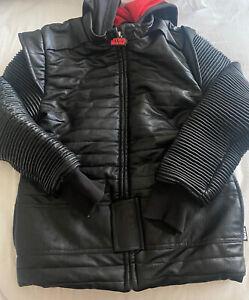 EUC  Disney Store Kylo Ren Hooded Jacket Boys Star Wars Costume Hoodie Size 7/8