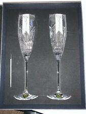 Waterford Love Wedding Vows Flute, Pair -- NEW IN BOX -- FAST SHIP -- 40003415