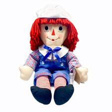 "Aurora Raggedy Andy Classic 24"" Plush Stuffed Doll 2012 Hasbro 15417"
