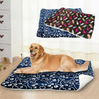 Clearance Large Dog Bed Soft Washable Cushion Mat Mattress Basket for Pets Cat