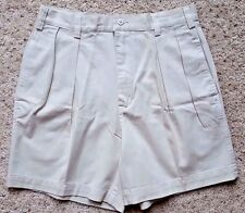 BRITCHES Mens SHORTS 32 Beige SZ Size PLEATED Short NEW Cotton NWT Man PLEAT Tan